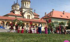 FOTO-VIDEO: Jocurile zeiţei Flora, la Festivalul Roman Apulum 2018 de la Alba Iulia