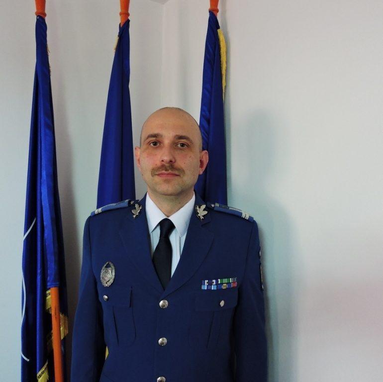 Prim adjunct nou la Jandarmeria Alba. Locotenent colonel Dan Vasile Popa, împuternicit în funcţie