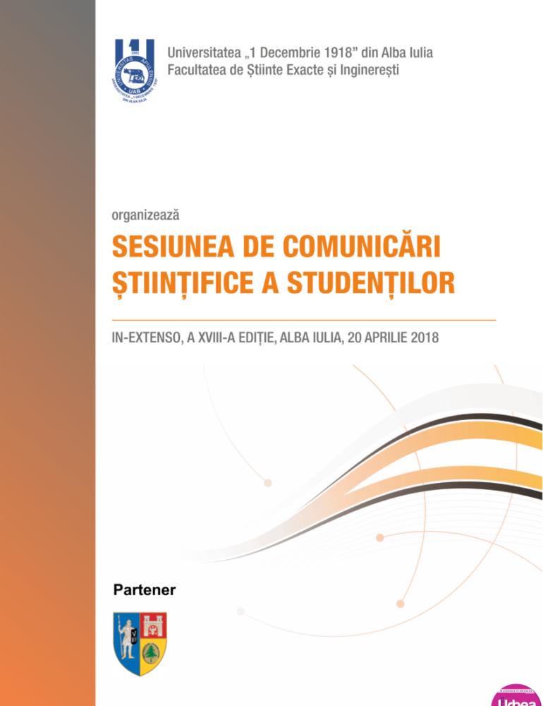 VINERI: A XVIII-a ediţie a sesiunii naționale de comunicări ştiinţifice a studenţilor In Extenso (Științe economice), la UAB