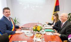 FOTO: Ambasadorul Germaniei, Excelența Sa Cord Meier-Klodt a fost în vizită oficială la Sebeș