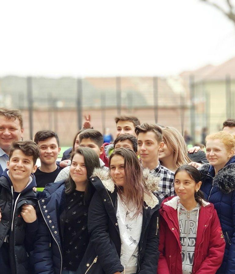 Primarul Sebeșului, Dorin Nistor, aduce în visteria orașului, pentru educație, încă 3.229.377,05 lei – fonduri europene nerambursabile