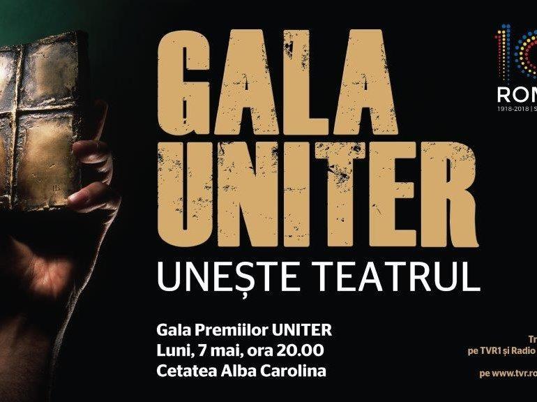 7 MAI, Gala Premiilor UNITER unește Teatrul la Alba Iulia. Premii pentru cele mai importante nume din teatrul românesc
