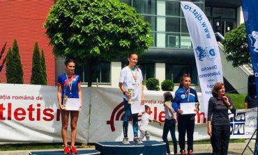 FOTO: Roxana Panța, sportivă legitimată la CS Unirea Alba Iulia, vicecampioană națională la semimaraton
