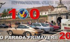 Sâmbătă: Retro Parada Primăverii 2018, la Alba Iulia. 25 de maşini de epocă vor fi expuse în zona Obeliscului