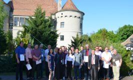 """FOTO: """"Vin de casă din must de la Jidvei"""". S-au desemnat câștigătorii concursului, la Castelul Bethlen-Haller"""