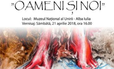 """Sâmbătă: Expoziţie de artă plastică """"Oameni şi noi"""" semnată de Anca Sas, la Muzeul Naţional al Unirii din Alba Iulia"""