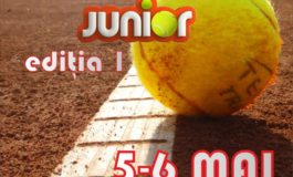 5 - 6 MAI: Cupa Florea Grup Junior, ediția I la Tenis de Câmp. Detalii despre înscriere