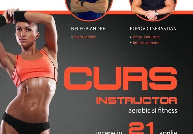 Fit Gym Alba Iulia găzduiește cursul acreditat de Instructor Aerobic–Fitness din 21 Aprilie
