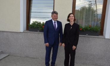 FOTO: Adjunctul Şefului Misiunii Diplomatice a SUA, Abigail Rupp, în vizită oficială în Ciugud