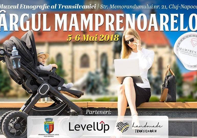 Micile afaceri ale mamicilor din Romania, prezentate intre 5-6 mai la Targul Mamprenoarelor care va avea loc la Muzeul Etnografic al Transilvaniei din Cluj Napoca