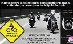 Sâmbătă: Marș al iubitorilor de motoare pe două roți, la Alba Iulia pentru conștientizarea prezenței motocicliștilor în trafic