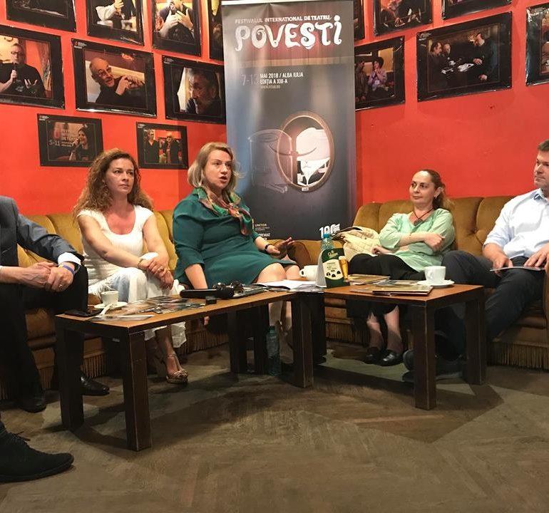"""De LUNI încep """"Poveștile"""", la Alba Iulia. Spectacole de teatru, lansări de carte, ateliere și expoziții în cadrul Festivalului Internaţional de Teatru"""