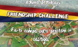 VINERI: Friendship Challenge, ediţia a II-a. Cea mai provocatoare competiţie de explorare a Cetăţii Alba Carolina pentru tinerii din Alba Iulia