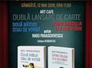 Sâmbătă: Scriitorul Radu Paraschivescu revine la Alba Iulia pentru o dublă lansare de carte, în cadrul FITAB