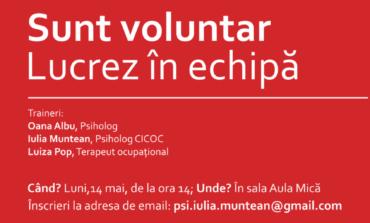 14 - 20 mai: Săptămâna Națională a Voluntariatului. Programul activităţilor organizate de Asociația SM Speromax Alba