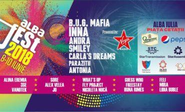 Alba Fest® 2018: PROGRAMUL celui mai aşteptat eveniment al anului