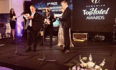 FOTO: Casa Dives, pensiune de 3 margarete din apropiere de Alba Iulia, LOCUL 3 la categoria Pensiunea Tradițională a Anului, în cadrul galei TopHotel Awards 2018