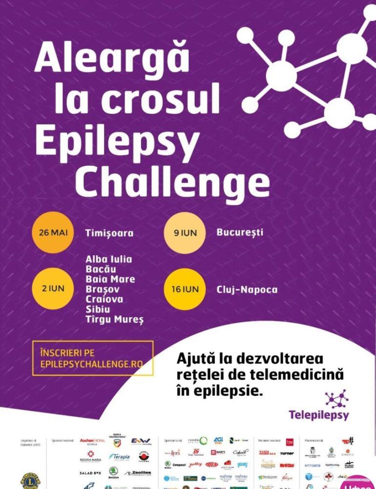 Cel mai mare cros pentru Epilepsie ia startul în România: Pe 2 iunie ajunge la Alba Iulia