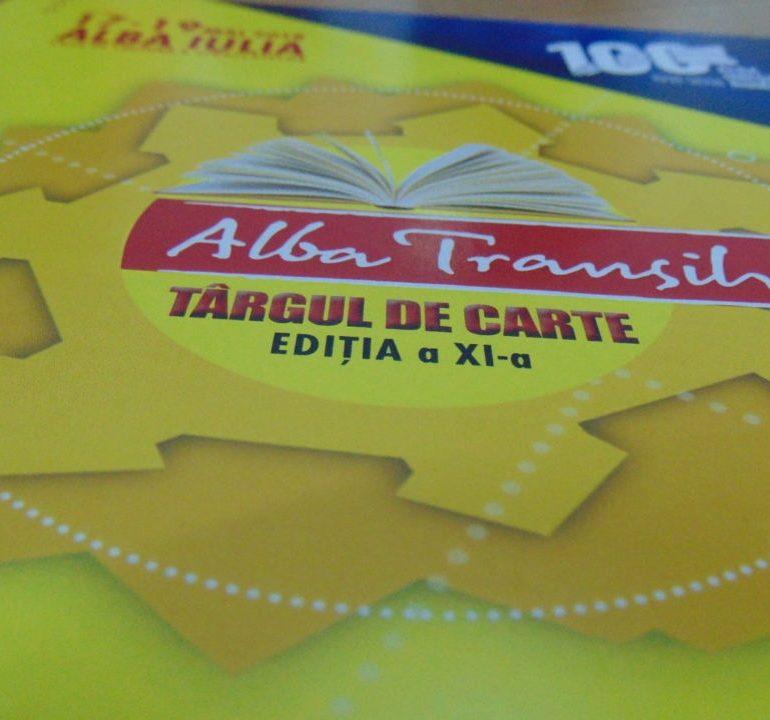 VIDEO: S-a deschis Târgul de Carte Alba Transilvana. Trei zile de lansări de carte, semnate de autori cunoscuţi, conferinţe şi expoziţii, concursuri şi spectacole pentru toate vârstele