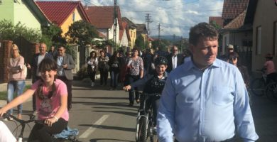 """Sebeșul, în prag de REFERENDUM.  Dorin Nistor, primar: """"Din drag de Sebeș, vă îndemn să participați la REFERENDUM!"""""""