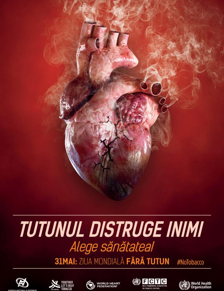 Activități de informare și conștientizare, desfășurate de CPECA Alba, cu ocazia Zilei Mondiale fără Tutun