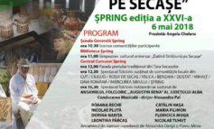 """ASTĂZI: Invitaţie culturală – Festivalul """"Datină străbună pe Secaşe"""" la Şpring"""