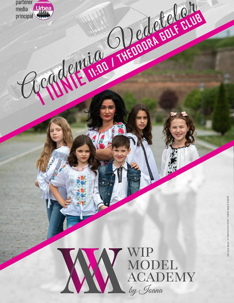 """""""1 iunie – Sărbătorim împreună"""", cu Ioana Şuteu şi cursanţii Wip Model Academy, la Theodora Golf Club"""