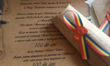 """28 MAI: """"Uniți de credință în istorie"""", la Alba Iulia. Ceremonial militar de arborare a drapelului şi intonarea imnului, în Piaţa Tricolorului cu ocazia Centenarului. PROGRAM"""