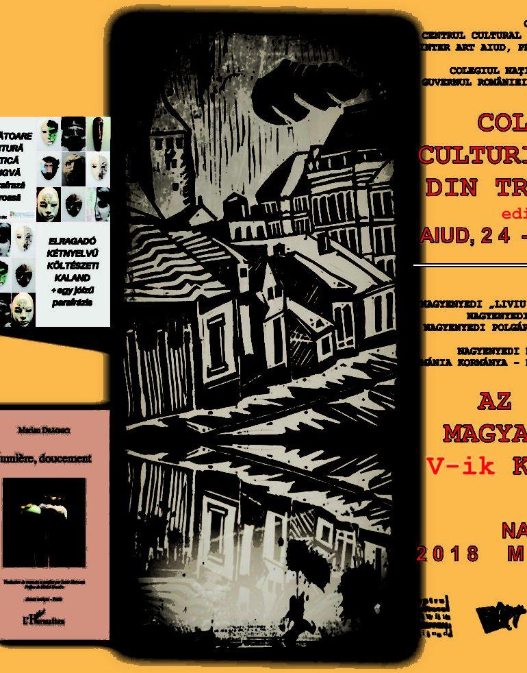 24-25 mai: Colocviile Culturii Maghiare din Transilvania, la Aiud. Programul manifestărilor