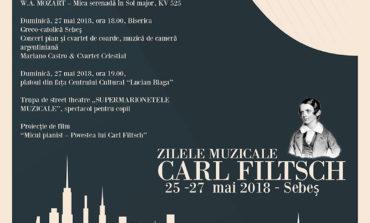 """25-27 mai:  """"Zilele muzicale Carl Filtsch"""". Operele unor compozitori celebri, în recitaluri, la Sebeş"""