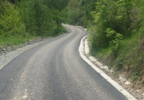 FOTO: Verificări la lucrări efectuate pe 4 tronsoane de drum comunal, la Meteş