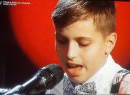 VIDEO: Albaiulianul Andrei Șerban a impresionat la Vocea României Junior şi a ajuns în echipa Innei