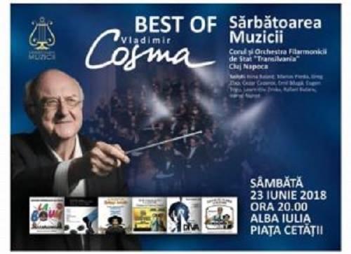22-24 IUNIE: Sărbătoarea Muzicii 2018. Câştigătorii de la Vocea României, Vladimir Cosma și musicalul MAMMA MIA, în Cetatea Alba Carolina