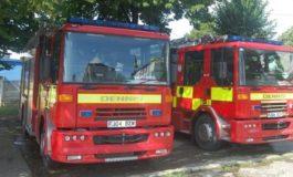 FOTO: O organizaţie din Marea Britanie a donat autospeciale pompierilor voluntari din comunele Ighiu și Arieșeni