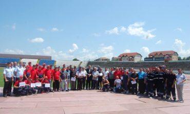 FOTO: SVSU Stremț, câștigătorii fazei judeţene a concursurilor profesionale ale serviciilor voluntare, organizate de ISU Alba. Lista câştigătorilor