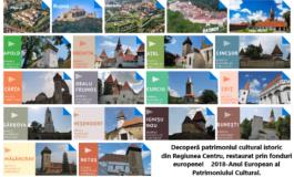 FOTO ADR Centru: Descoperă bijuteriile istorice din Regiunea Centru - patrimoniu cultural restaurat cu fonduri UE