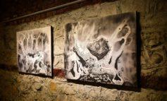 """FOTO: """"Ştefan Balog – Capturi de vise"""". Artistul aiudean a sărbătorit 50 de ani de viață, printr-o amplă și reprezentativă expoziție"""