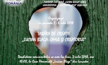 """2-6 iulie: Tabăra de creație """"Lucian Blaga: Omul și creatorul"""", la Casa Memorială a poetului, din Lancrăm. Programul complet al evenimentului"""