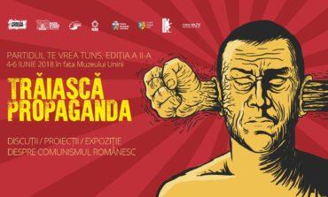 """4-6 iunie: """"Partidul te vrea tuns"""". Discuții și proiecții de film despre ce a însemnat comunismul în România, în faţa Muzeului Național al Unirii di Alba Iulia"""