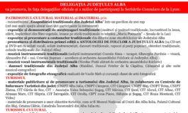 22-24 iunie: Judeţul Alba este invitat de onoare şi reprezentant unic al României la Serbările Consulare de la Lyon (Franţa)
