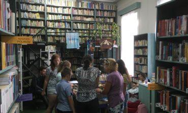 FOTO: Copii și tineri pasionați de film la Bibliovacanța