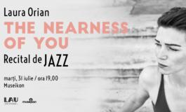 MARŢI: The Nearness of You, recital de jazz susţinut de Laura Orian la Muzeul Museikon din Alba Iulia