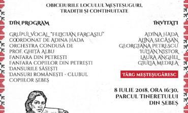 DUMINICĂ: Sărbătoarea portului tradiţional, la Sebeş. Obiceiurile locului, meșteșuguri, tradiții și continuitate