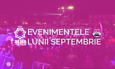 Evenimentele lunii SEPTEMBRIE, la Alba Iulia: Muzică şi film în aer liber, competiţii sportive şi descoperire de noi talente ale muzicii populare