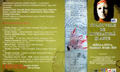 20 iulie: Colocviile de literatură și arte, ediția a XXV-a, la Aiud.Colocviile de literatură și arte, ediția a XXIV-a, la Aiud. Lansări de carte, traduceri literare şi recitaluri