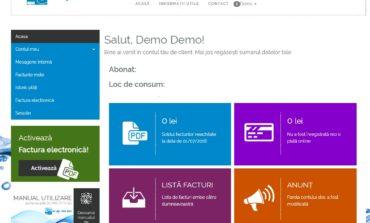 A fost lansat portalul de plăți online al operatorului de apă SC Apa CTTA SA, un website modern, adaptabil la orice dispozitiv și securizat