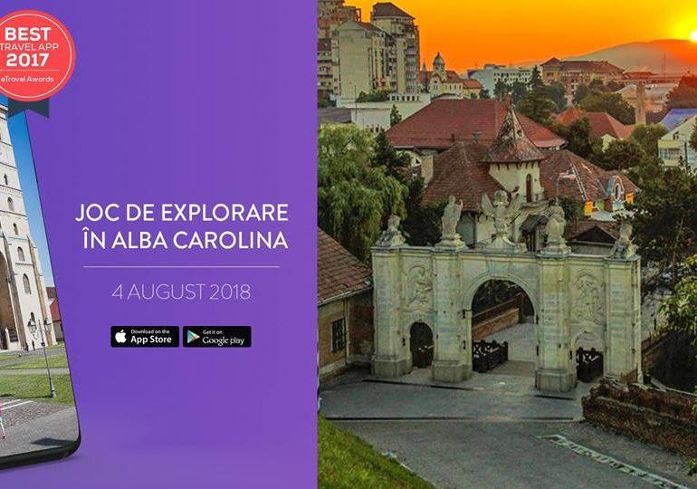 Din 4 august, descoperă Cetatea Alba Carolina cu ajutorul smartphone-ului tău