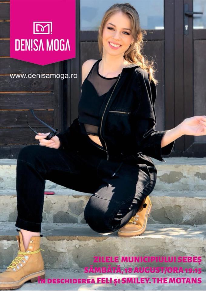 SÂMBĂTĂ: Denisa Moga cântă, din nou, acasă. Recital extraordinar la Zilele Municipiului Sebeş