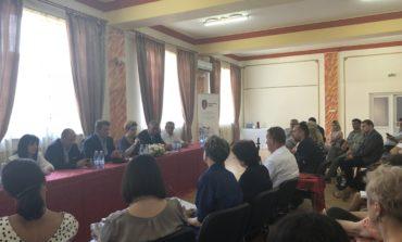 FOTO: La solicitarea primarului Dorin Nistor, Ministrul Mediului, Grațiela Gavrilescu, în vizită la Sebeș
