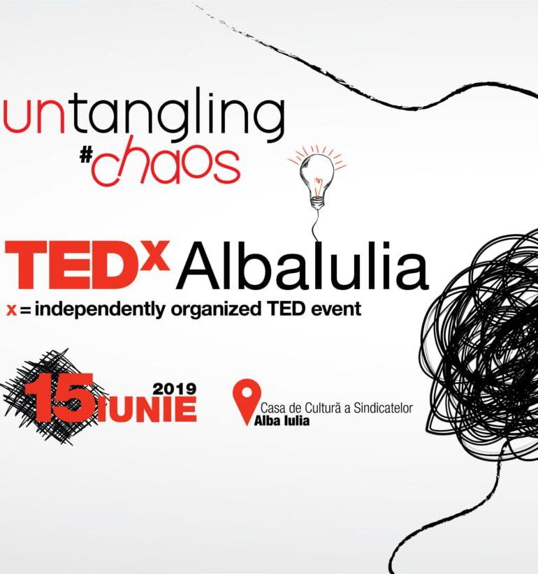 Sâmbătă: Dezlegăm haosul anul acesta la Conferința TEDx Alba Iulia